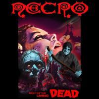 ネクロ Necro メンズ トップス Tシャツ Night Of The Living Dead Black