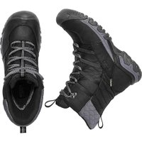 キーン レディース ブーツ シューズ・靴 Keen Hoodoo III Lace Up Boot Black / Magnet