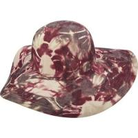 ブルックリンハット カンパニー レディース ハット 帽子 Amiens Printed Round Crown Sun Hat Wine