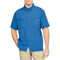 アンダーアーマー メンズ 半袖シャツ トップス Tide Chaser Short Sleeve Shirt Mediterranean