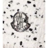 モンクレール レディース ミニスカート スカート Russell wool-blend tweed skirt White