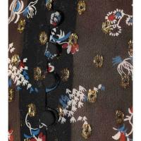 ヴェロニカ ベアード レディース ブラウス・シャツ トップス Cora printed silk-blend blouse