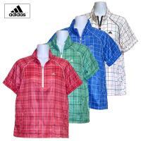 チェック柄が可愛い、防風・撥水に優れた半袖ウィンドシャツです。  ■価格 定価 8,925円 → セ...