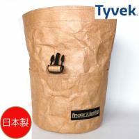 フィンガージョイント・ボルダリング置き型チョークバッグ / チョークバケットC-タイベック(R)茶