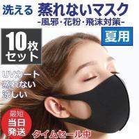 マスク 入荷 10枚セット 洗える 蒸れない 涼しい 夏用 マスク ウィルス飛沫 男女兼用 在庫あり