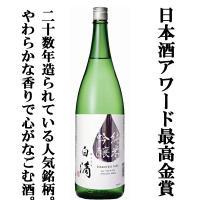【ワイングラスで美味しい日本酒アワード 最高金賞受賞】 【ふくよかな米の旨みが感じられる本当に美味し...