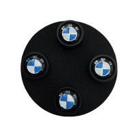 北米限定BMWロゴバルブキャップ ブラック(4個入り)  純正バルブキャップにブラックカラーが新登場...