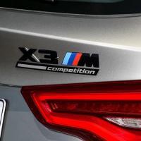 BMW純正F97 X3M CompetitionリアトランクエンブレムF97G02F48E83F25F26E71X1X3X4X6