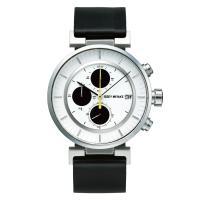 wena wrist leather Chronograph set Black -ISSEY MIYAKE Edition-