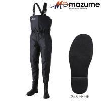 マズメ MZX エントリーウェイダー MZBF-042 ブラック 《オレンジブルー ウェーダー》  ...