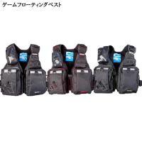 ゲームフローティングベスト NF-2200 ■サイズ:フリー ■カラー: ブラック×レッド、ブラック...