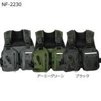 ゲームベスト NF-2230 ■サイズ:フリー ■カラー:ブラック/アーミーグリーン  ≪ゲームベス...