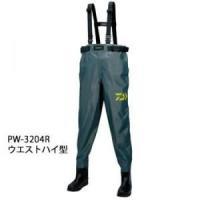 パワーウェーダー PW-3204R モスグリーン ■カラー:モスグリーン ■タイプ:ウエストハイ型 ...