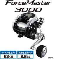 15 フォースマスター 3000 ■ギア比:3.9 ■最大ドラグ力(N/kg):196.0/20.0...