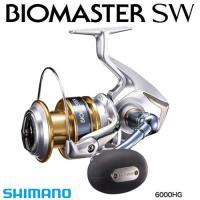 16 バイオマスター SW 6000HG ■ギア比:5.7 ■実用ドラグ力/最大ドラグ力(N/kg)...