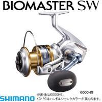 16 バイオマスター SW 6000XG ■ギア比:6.2 ■実用ドラグ力/最大ドラグ力(N/kg)...
