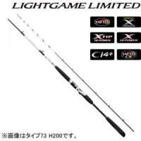 ライトゲーム リミテッド タイプ82 H190 ■全長(m):1.91 ■継数(本):2 ■仕舞寸法...