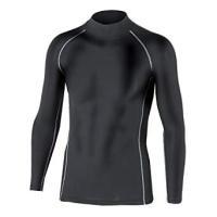 防寒下着 ボディータフネス BTパワーストレッチ ハイネックシャツ ブラック JW-170 ■素材:...