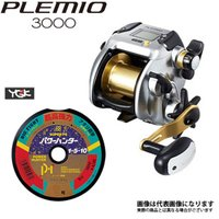 シマノ 15 プレミオ 3000 PE5号×300m リールに巻いて発送 電動リール ライン付き セット