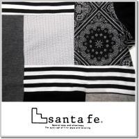 サンタフェ santa fe PATCHWORK T-SHIRTS 95839