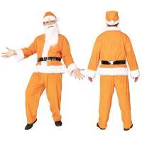 〔クリスマスコスプレ 衣装〕 GOGOサンタサン オレンジ
