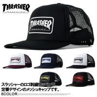 THRASHER スラッシャー メッシュキャップ メンズ 帽子 スナップバックキャップ Z5Z