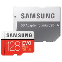 128GB microSDXCカード マイクロSD Samsung サムスン EVO Plus Class10 UHS-I U3 R:100MB/s W:60MB/s SDアダプタ付 海外リテール MB-MC128HA/CN ◆メ