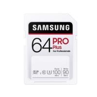 64GB SDXCカード SDカード Samsung サムスン PRO Plus Class10 UHS-I U3 R:100MB/s W:90MB/s 7つの耐久性能 海外リテール MB-SD64H/CN ◆メ