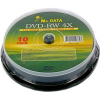 【製品仕様】 ■メーカー型番: MR.DATA DVD-RW47 4X10PS ■用 途: データ用...