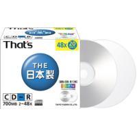 型番:CR80SWPY20SV   JANコード:4906915506759   規格:CD-R  ...