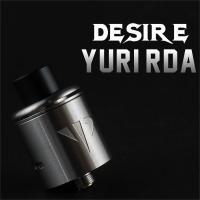 【内容品】 ・Desire YURI RDAアトマイザー:1点  ・510ドリップチップ用トップキャ...