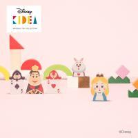 Disney KIDEA(キディア) KIDEA&BLOCK 不思議の国のアリス 正規品