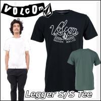VOLCOM 2015年春夏物 リサイクル素材を使った環境にやさしいティーシャツです。 ストリート感...