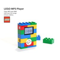 LEGO(レゴ)MP3プレーヤー 2GB flgds 02