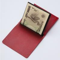 MYNUS FLIP UP WALLET slim(ワインレッド)栃木レザー スリム二つ折り財布|flgds|02