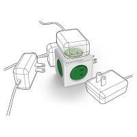 Power Cube(パワーキューブ)Original(緑)(5コンセント)電源タップ|flgds|03