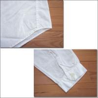 D.M.G ドミンゴ DMG 16-457X 31-8 オーバーシャツ レギュラーカラーシャツ シャンブレー ホワイト 白 Made in JAPAN 日本製