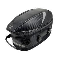 バイク用 オリジナルデザイン 炭素繊維 拡張機能あり 防水 耐久性 タンクバッグ シートバッグ 多用性 送料無料