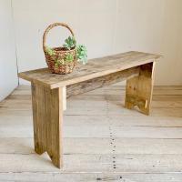 リサイクルウッド べンチM 木製ベンチ ウッドベンチ 天然木 玄関椅子 長椅子 長いす 花台 ダイニ...