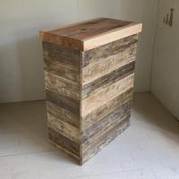 送料無料 リサイクルウッド幅70cm カウンターテーブル バーカウンター カウンターテーブル キッチ...