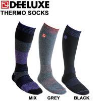 DEELUXE THERMO SOCKS   サーモソックス特徴  ●裏返し仕上げ ●カノコ編み ●...