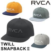 2020 RVCA ルーカ キャップ BA041-910 TWILL SNAPBACK2 帽子 サーフグッズ ユニセックス