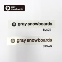 GRAY SNOWBOARD グレイ スノーボード カッティング ステッカー [1]