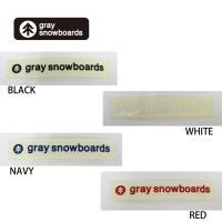 GRAY SNOWBOARD グレイ スノーボード カッティング ステッカー [3]