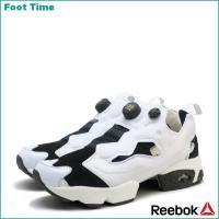 リーボック インスタ ポンプ フューリー ACHM ブラック/ホワイト AR0445