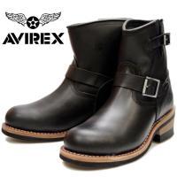 アビレックス ブーツ AV2225 ブラック  【AVIREX アビレックス】 AVIREXは、19...