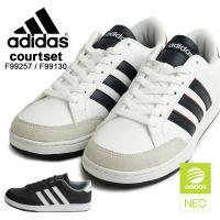 アディダス ネオ adidas neo メンズ COURTSET F99257 F99130 デティ...