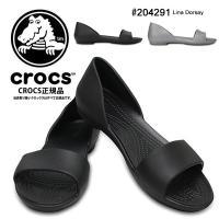 [ Crocs Lina Dorsay 204291 ]  エレガントでモダンなデザインが女性らしい...