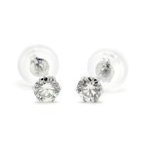 ■数量限定の大特価商品 プラチナPt900台を使用して20,000円を切ったダイヤモンドピアス! 数...