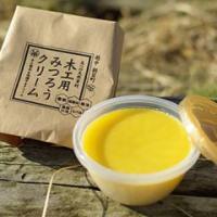 蜜蝋ワックスは原料に自然素材のみの蜜蝋(みつろう)なたね油 亜麻仁油 椿油 ヒバ油を使ったお子様に安...